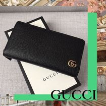 GUCCI GG Marmont Plain Long Wallets