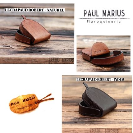 Plain Leather Folding Wallet Coin Cases