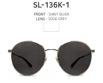 96e48a631e ... Saint Laurent Sunglasses Round Sunglasses 3 ...