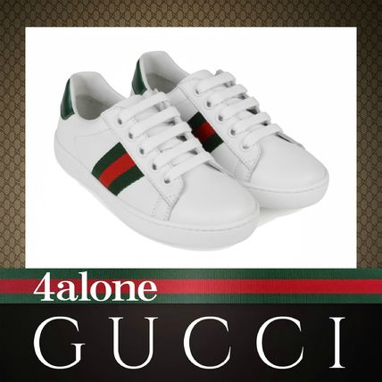 a58a759bd07 ... GUCCI Kids Girl Sneakers Unisex Street Style Kids Girl Sneakers ...