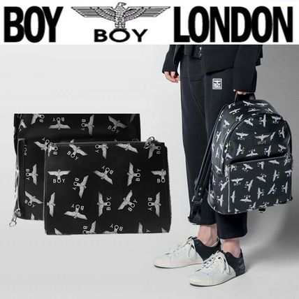 Unisex Faux Fur Street Style Other Animal Patterns Backpacks