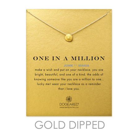 Dogeared Casual Style 14K Gold Necklaces & Pendants