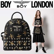 BOY LONDON Casual Style Faux Fur Street Style Other Animal Patterns