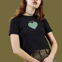 UNIF Clothing Casual Style Street Style Cotton Short Sleeves T-Shirts