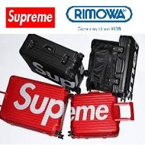 Supreme Unisex Street Style Collaboration Luggage & Travel Bags
