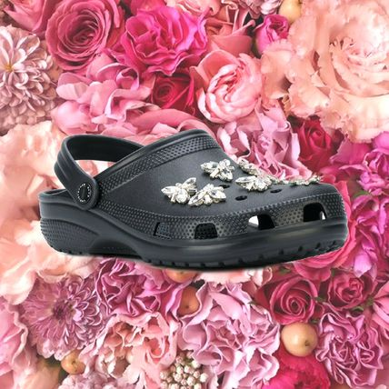 Round Toe Rubber Sole Casual Style Blended Fabrics