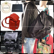 GUCCI Casual Style Nylon A4 Backpacks