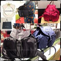 GUCCI Nylon Elegant Style Backpacks