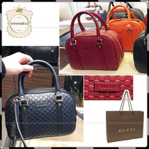 GUCCI 2WAY Leather Elegant Style Handbags