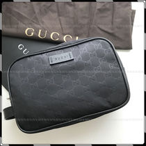 GUCCI Nylon 3WAY Elegant Style Clutches
