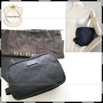 GUCCI Nylon Plain Clutches