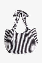 MONKI Stripes Casual Style A4 Totes