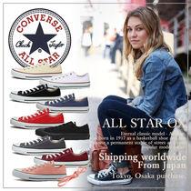 CONVERSE Casual Style Plain Low-Top Sneakers