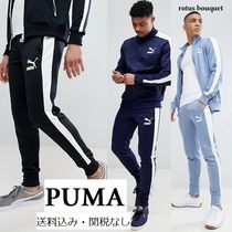 PUMA Stripes Sweat Street Style Plain Joggers & Sweatpants