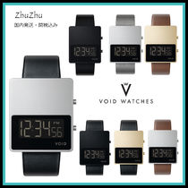 VOID WATCHES Casual Style Unisex Street Style Square Mechanical Watch