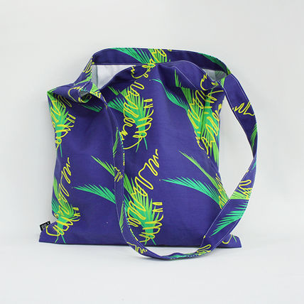 Tropical Patterns Casual Style Unisex Street Style Handmade