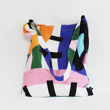 Casual Style Unisex Street Style Handmade Totes