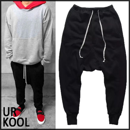 Sweat Street Style Plain Oversized Joggers & Sweatpants