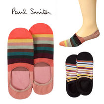 Paul Smith Stripes Unisex Blended Fabrics Cotton Undershirts & Socks