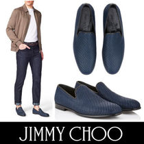 Jimmy Choo Plain Toe Street Style Plain Loafers & Slip-ons