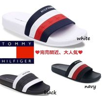 Tommy Hilfiger Star Casual Style Street Style Shower Shoes Flat Sandals