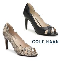 Cole Haan Leather High Heel Pumps & Mules