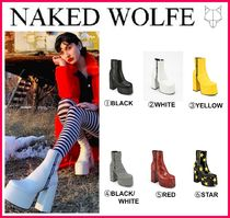 Naked Wolfe Mid Heel Boots