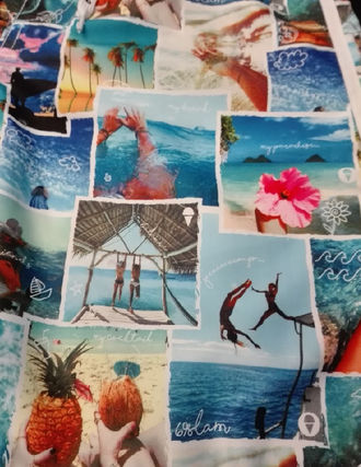 69SLAM Tropical Patterns Swimwear