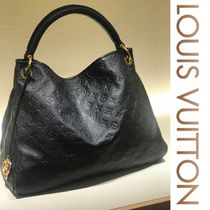 Louis Vuitton ARTSY Monogram Blended Fabrics Studded A4 Leather Elegant Style