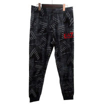 EMPORIO ARMANI Printed Pants Cotton Patterned Pants