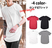 Crew Neck Street Style Short Sleeves Crew Neck T-Shirts