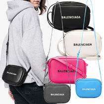 BALENCIAGA EVERYDAY TOTE Calfskin Plain Shoulder Bags
