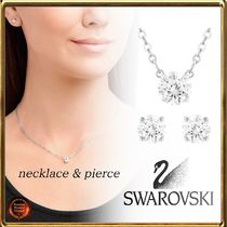 SWAROVSKI Chain Brass Elegant Style Necklaces & Pendants