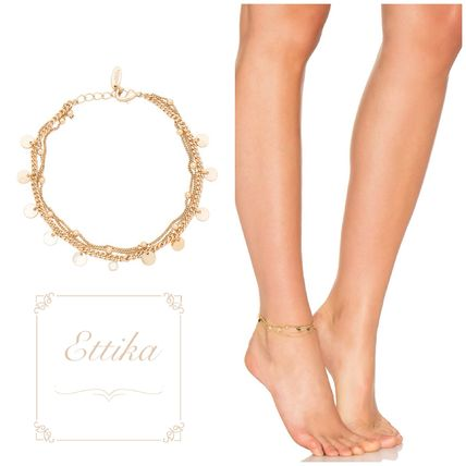 Coin Anklets