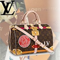 Louis Vuitton MONOGRAM Monoglam SPEEDY 30 Handbags