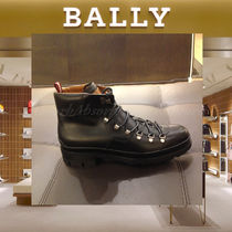 BALLY Plain Leather Boots