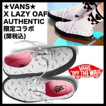VANS AUTHENTIC Casual Style Low-Top Sneakers