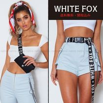 WHITE FOX Casual Style Street Style Belts