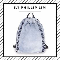 3.1 Phillip Lim Casual Style Studded Street Style 2WAY Plain Backpacks