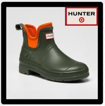 HUNTER Round Toe Casual Style Unisex Street Style Collaboration