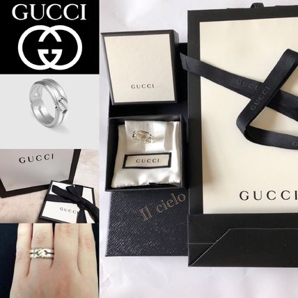 【GUCCI】2018ss unisex Silver ring*