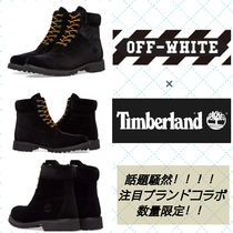 Timberland Mountain Boots Velvet Street Style Collaboration Shoes