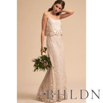 BHLDN Long Lace Wedding Dresses