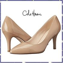 Cole Haan Plain Leather Pin Heels Office Style