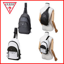 Guess Unisex Faux Fur Messenger & Shoulder Bags