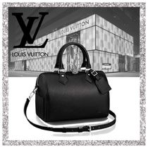 Louis Vuitton EPI Calfskin 2WAY Plain Elegant Style Boston & Duffles