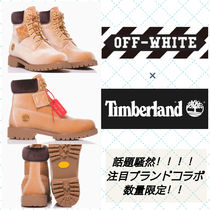 Off-White Mountain Boots Velvet Street Style Collaboration Shoes