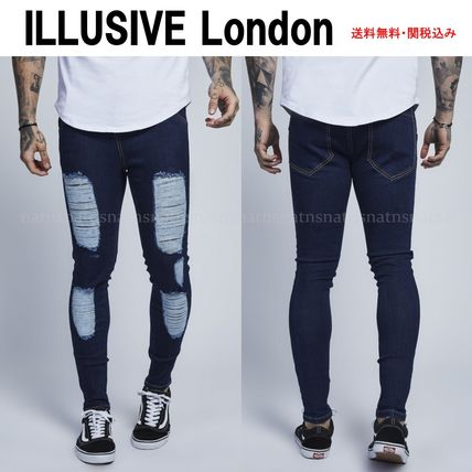Denim Street Style Skinny Fit Jeans & Denim
