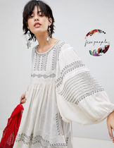Free People Puff Sleeves Tunics