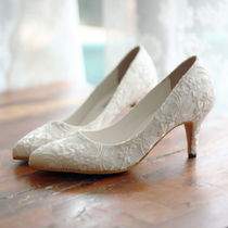 Flower Patterns Handmade Lace Shoes